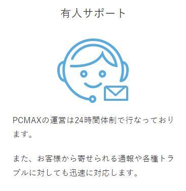 PCMAXの安全対策